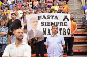 Foto: ACB Photo / Fran Martínez Deportividad y emoción en el recuerdo a José Luis Abós