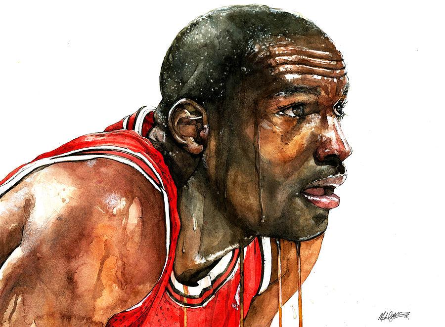 10 maneras en las que Michael Jordan puede ayudarte en tu vida cotidiana (toma 1) | fiebrebaloncesto.com - 1_Jordan_Retrato_Michael_Pattison