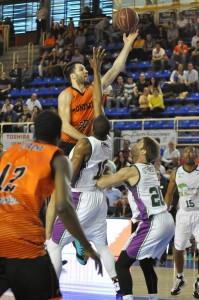 """Foto: Lydia Calvo / www.fuenlafreak.com """"Yo, Panko"""" dijo Cvetkovic, siendo el mejor de su equipo"""