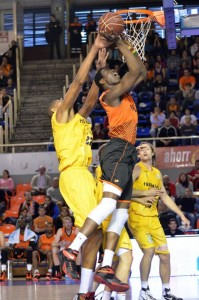 (Foto: ACB Photo) Diagné, uno de los mejores de su equipo