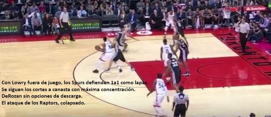 Spurs defensa 2