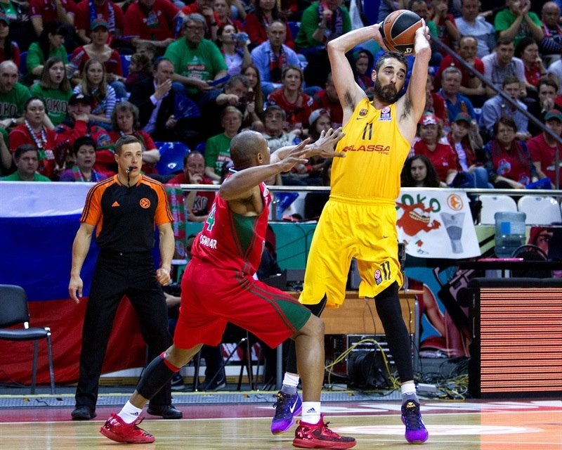Fuente: http://www.euroleague.net/ Navarro...simplemente imparable +28 con él en pista